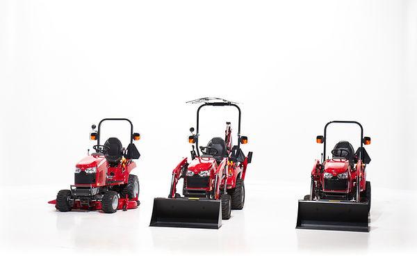 3 tracteur sous compact Massey Ferguson GC1700