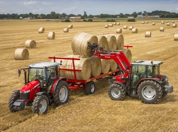 Tracteur Massey Ferguson 5700D