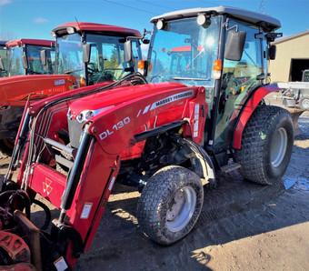 Tracteur Massey Ferguson 1758, 2015