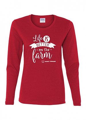 T-shirt Massey Ferguson pour femme