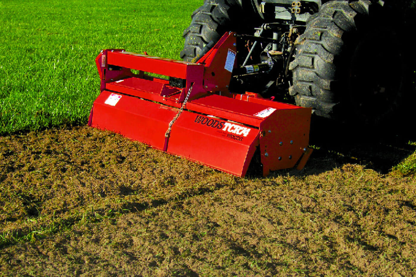 Forward and Reverse Rotary Tillers - Woods