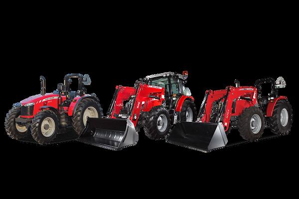 3 tracteurs Massey Ferguson png