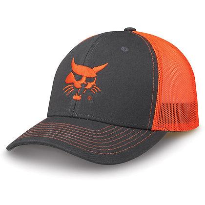 Shiny mesh back cap