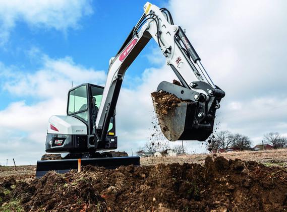 Excavatrice Bobcat E50