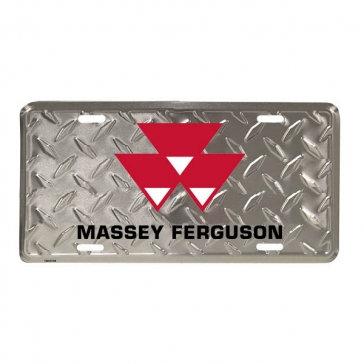 Plaque de diamant en aluminium Massey Ferguson