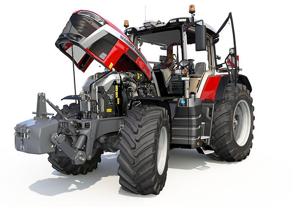 tractor-massey-ferguson-8s-open-hood-engine