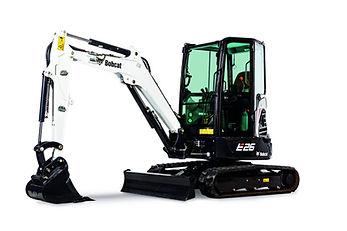 Excavatrice Bobcat E26 png