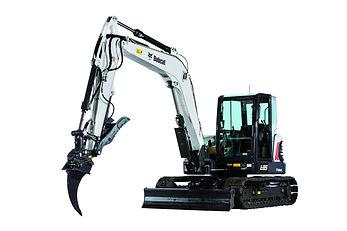 Excavatrice Bobcat E85 png