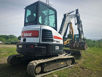 Excavatrice, excavatrice Bobcat E35, excavatrice à vendre