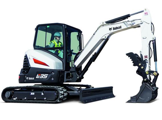 Excavatrice Bobcat E35