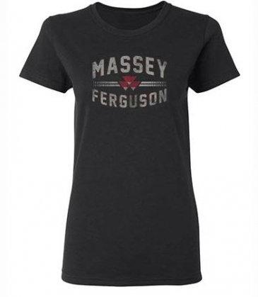 Massey Ferguson T-shirt à imprimé doux pour femmes