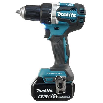 """Makita 18V LXT Brushless 1/2"""" Driver Drill 5.0Ah Kit"""