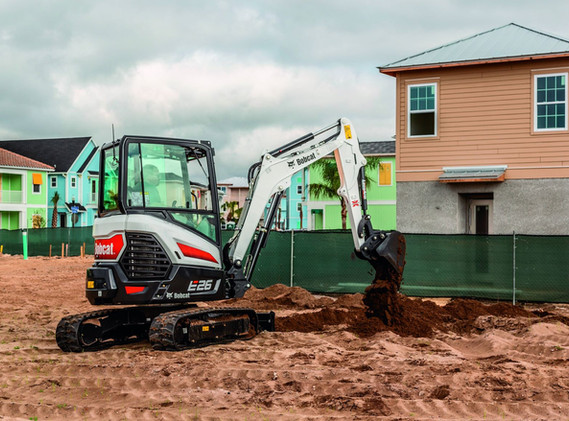 Excavatrice Bobcat E26