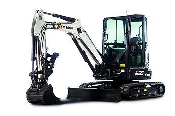 Excavatrice Bobcat E35 png