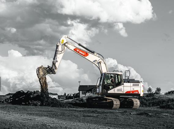 Excavatrice Bobcat E165