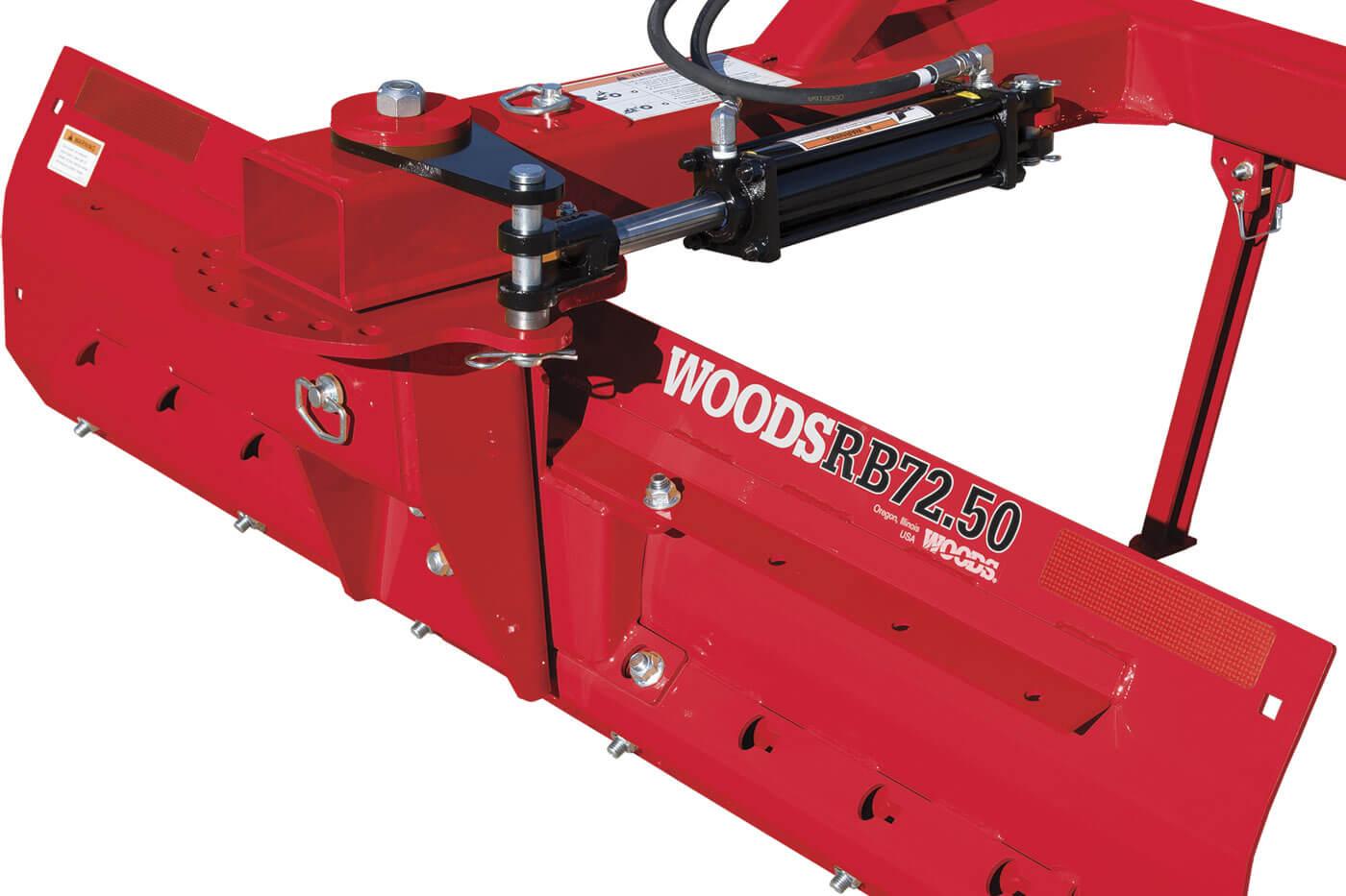 Rear Blades, woods