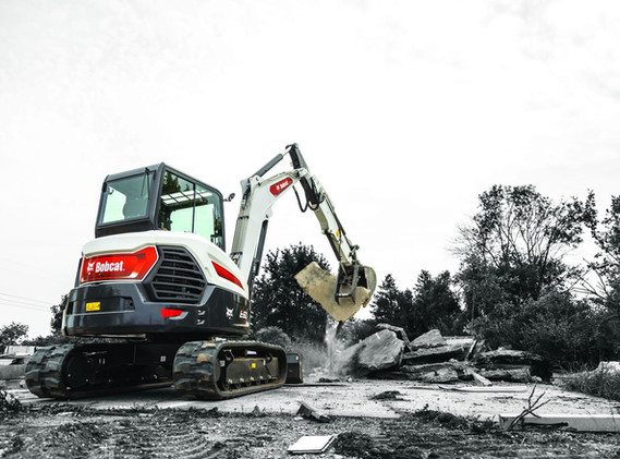 Excavatrice Bobcat E60
