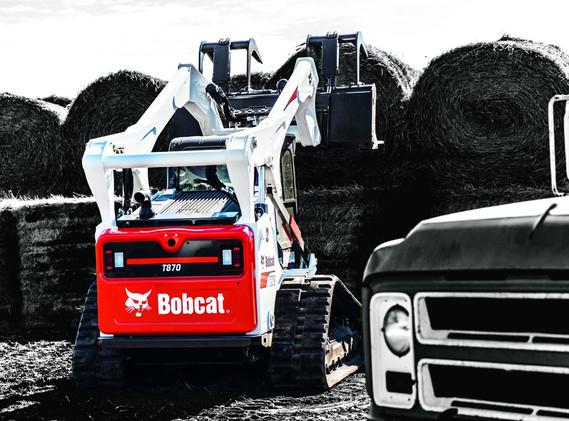 Chargeur sur chenilles Bobcat T870