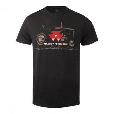 T-shirt Massey Ferguson Vintage Tractor