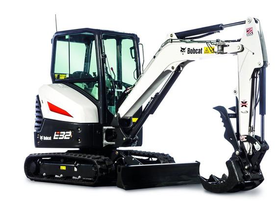 Excavatrice Bobcat E32
