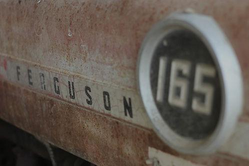 Massey Ferguson 165, tracteur