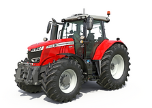 Tracteur Massey Ferguson 6718S png