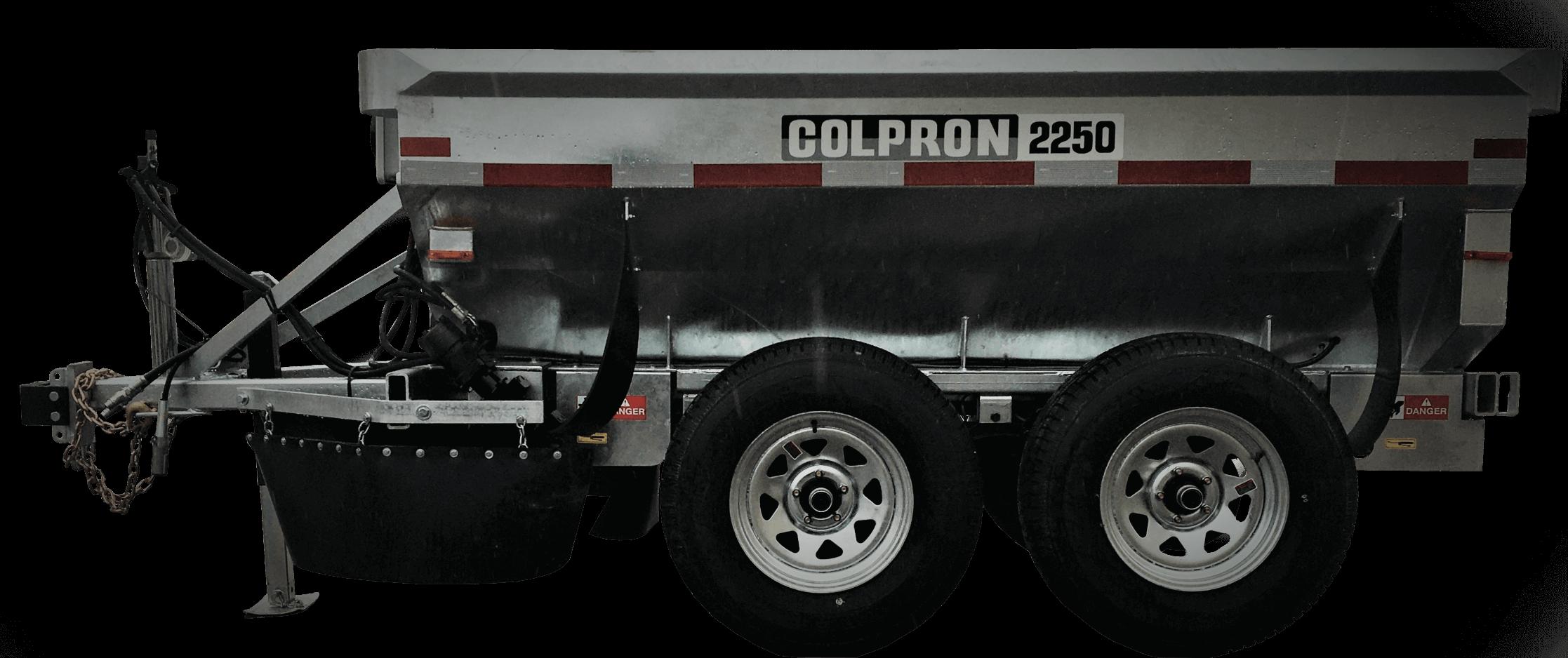 Salt spreader - Colpron 2250