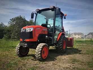 Tracteur Kubota B3350 2013, tracteur compact