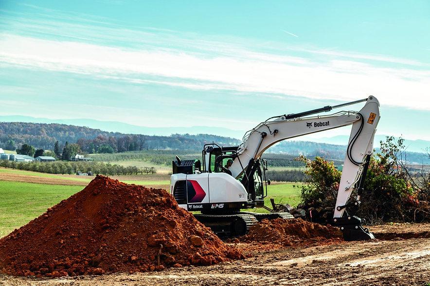 bobcat-e145-construction