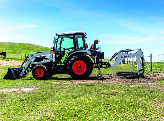 Tracteur compact Bobcat CT5545