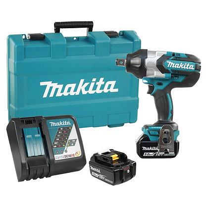 "Makita 18V LXT Brushless 3/4"" Impact wrench 5.0Ah Kit"