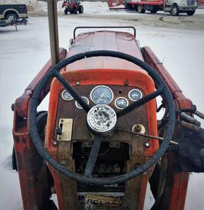 Tracteur Massey Ferguson 165, 1967