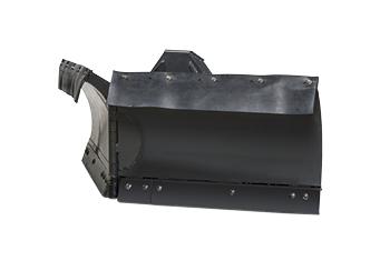 V-shaped snow plow - Utility vehicle - Bobcat