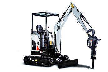 Excavatrice Bobcat E20 png