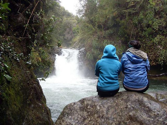 contemplando+cascada