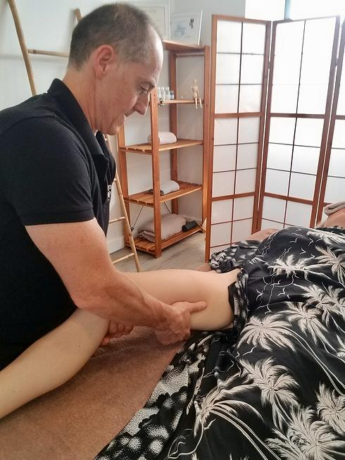 Massage Orange bleue