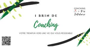 Coaching de vie Professionnel et solidaire