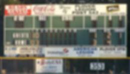 Veterans Memorial Park Scoreboard