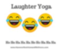 laughter yoga 3 laughing emojis white ba