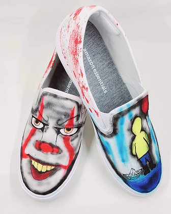 We All Float Canvas Shoes