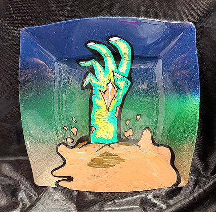 """Zombie Hand Tray 8"""""""