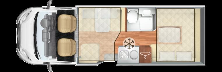 AutoRoller 747 Floorplan