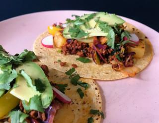 Vegan Chorizo & Potato Tacos