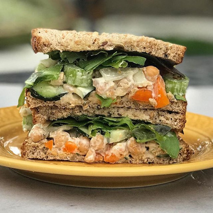 Tuna-Fish-Less Sandwich