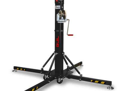 ELC-640 Torre de elevación telescópica. Altura máxima: 5,20 m / Carga máxima: 250 kg