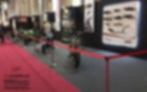 Alquiler de postes separadores en el Palacio de congresos de Barcelona