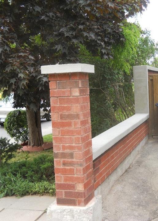 Retaining Wall, Stone retaining wall, wall repair, stone wall repair, masonry repair toronto, mortar repair