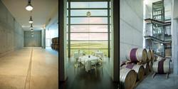 waterkloof, interior winecellar and restaurant