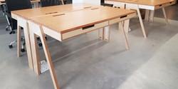 fbs - double startup desk, 1600 l x 720