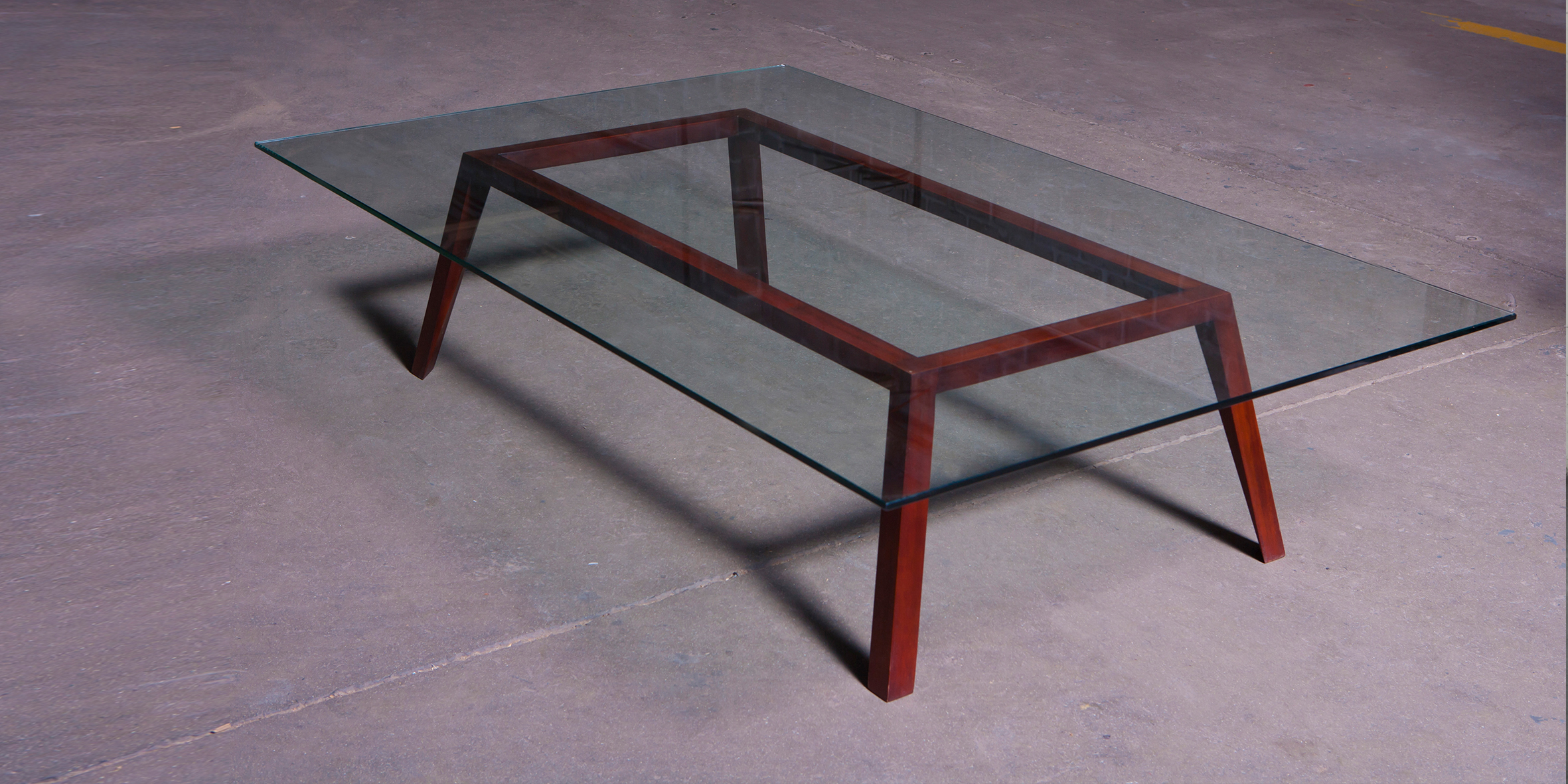 fbs - coffee table 1, mahogany, 1600 l x 1000 w x 400 h REV 1